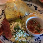 Los chilaquiles en salsa poblana, súper recomendables!