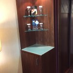MiniBar and amenities in the room