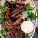 Steak on Salad