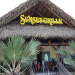 Entrance to the Sunset Grille