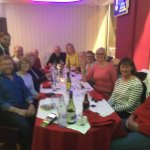 Great food, great night out and friendly professional staff. Thanks to all from the Physios of 1