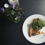 Quiche & salad - bring some colour to your day!