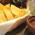 Complementary Chips and Salsa, Casa Azteca Mexican Restaurant, Milpitas, CA