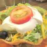 Taco Salad, Casa Azteca Mexican Restaurant, Milpitas, CA