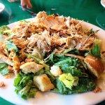 Grilled chicken salad at Oregano's