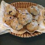 Sandy's delicious scones!