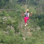 I had an excellent experience at Monkey Jungle and Zipline Adventures.  Zipline Guide, LESLY REM