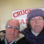 Louis and I at Crugnale Bakery Cranston, R.I.