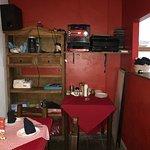 Dining Room Prep Area