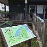 Map of kayaking areas