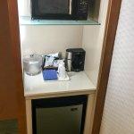 Coffemaker, Microwave & Mini-fridge