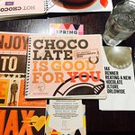 Photo of Chocolate by the Bald Man, Max Brenner