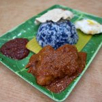 Nasi Ketuk Rendang Ayam (on weekends)