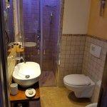 bathroom at sea view room