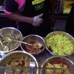 Nasi kandar counter