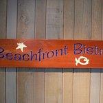 Beachfront Bistro signage