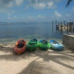 Free use of kayaks, single/double