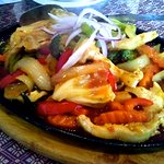 SIZZLING CHICKEN STIR FRY. Tender chicken with chunchy vegies and sauce to die for