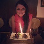 Delicious birthday surprise chocolate samosas - incredible!
