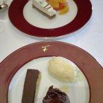 Chariot des desserts