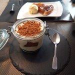 dessert : tiramisu spéculos et tarte tatin