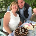 George and Rosemary Celebrated their 29th Wedding Anniversary yesterday. Congratulations MB