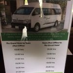 free shuttle to the center