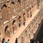 The staircase-well Agrasen ki Baoli in New Delhi