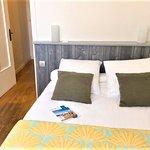 Chambre familiale  - la 1ère chambre avec lit double