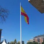 Worlds largest Spanish flag!