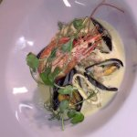 Last weeks special, Sea food chowder