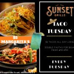 Every Tuesday is Taco Tuesday - $2 Taco's & $5 Margarita's