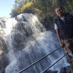 My self with the Waterfalls, they have safety barricades