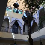 Inside the centre of the Riad