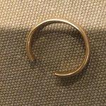 My cut wedding ring.