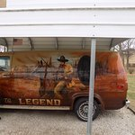 Beautifully painted van donated to the museum