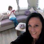 The living room of caravan number 10!