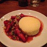 Cheesecake with strawberry glaze (worth it!)