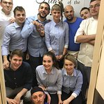 The quality of food and service is reflected by the team that stands behind. The best team!