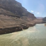 Colorado River from the helicopter