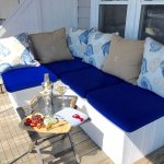 Windward Guesthouse porches, rooms 9 - 17