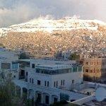 Qasioun with snow