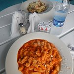 my b/fs rasta pasta (or something with a similar name) and my AMAZING gnocchi