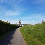Walkway to the windmill!!!