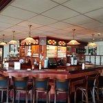 Bar area on the main level