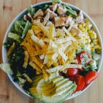 CoreLife Eatery Southwest Grilled Chicken and Wild Rice Grain Bowl