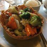 Seafood basket (more like a chopsuey)
