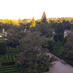 View over the gardens