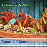 La famosa Canoa del amor!!