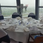 Wedding in the Sky lounge